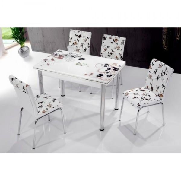 Комплект трапезна маса и столове ТОСИА