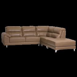 Кожен ъглов диван CAPRICE